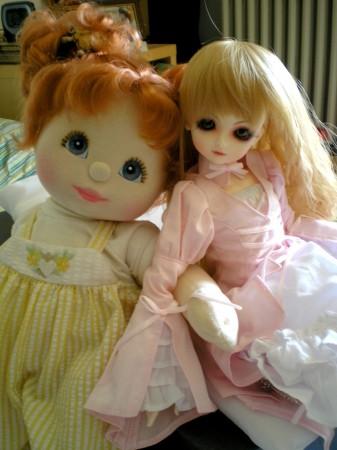 Con la sua sorellina rossina My Lovosa!!