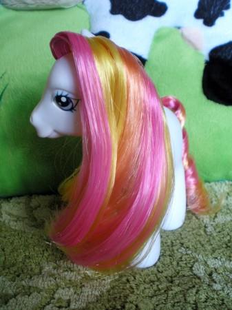 Criniera arcobaleno colori caldi